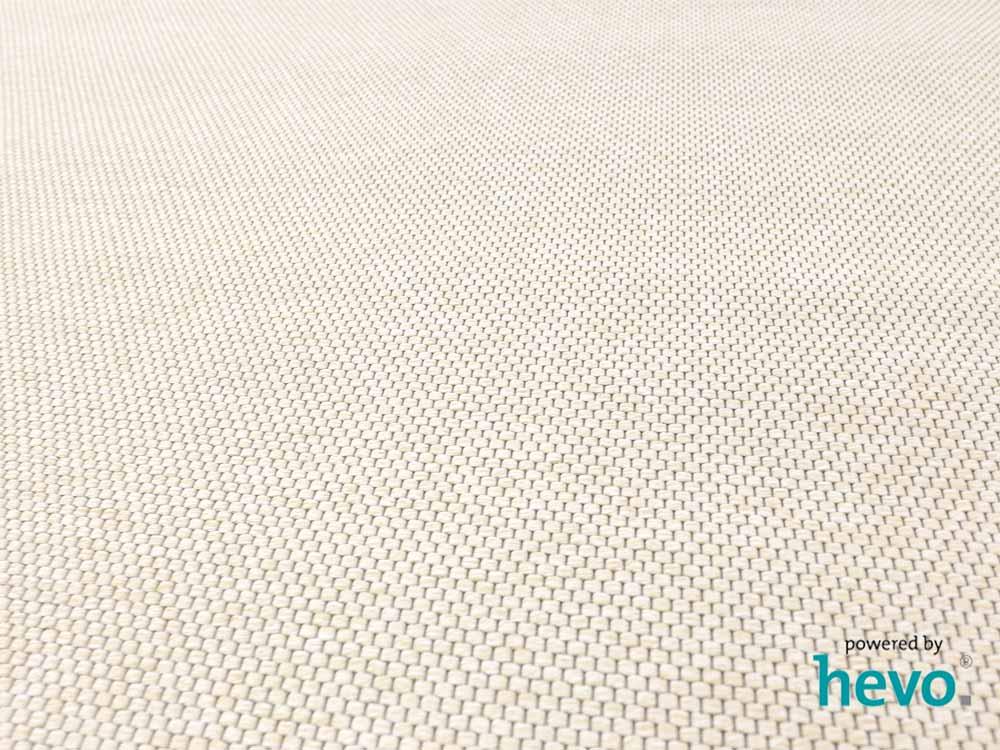 Ben beige Kettel Teppich Dänisches Flachgewebe 250×350 cm
