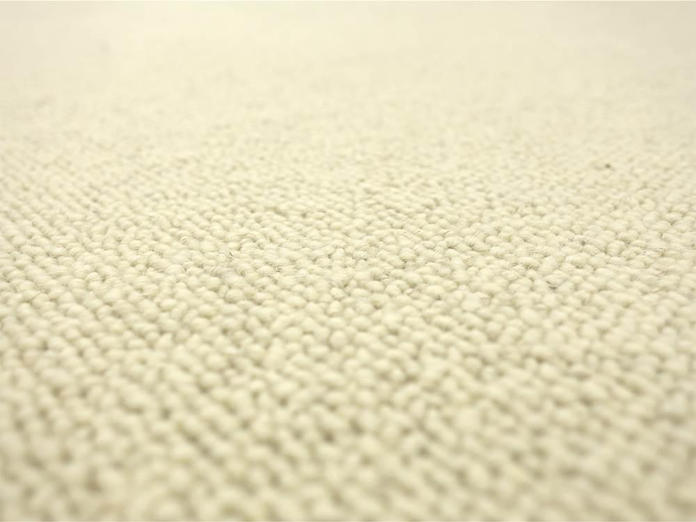 Afrika wollweiss HEVO ® Berber Kettel Teppich 100% Wolle