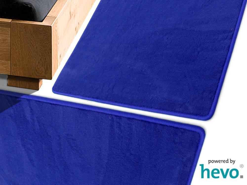 Romeo blau HEVO ® Bettumrandung 2 Teile 70×140 cm + 1 Teil