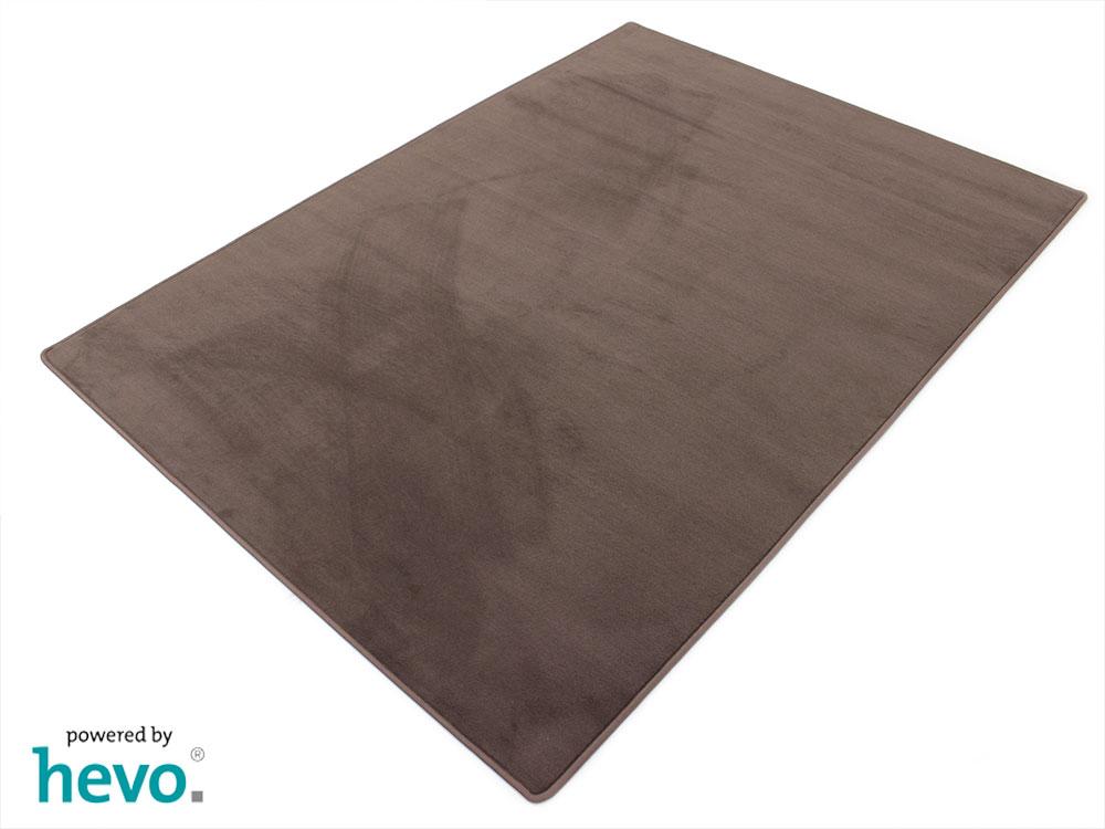 Romeo braun HEVO ® Velours Kettel Teppich 200×300 cm  eB