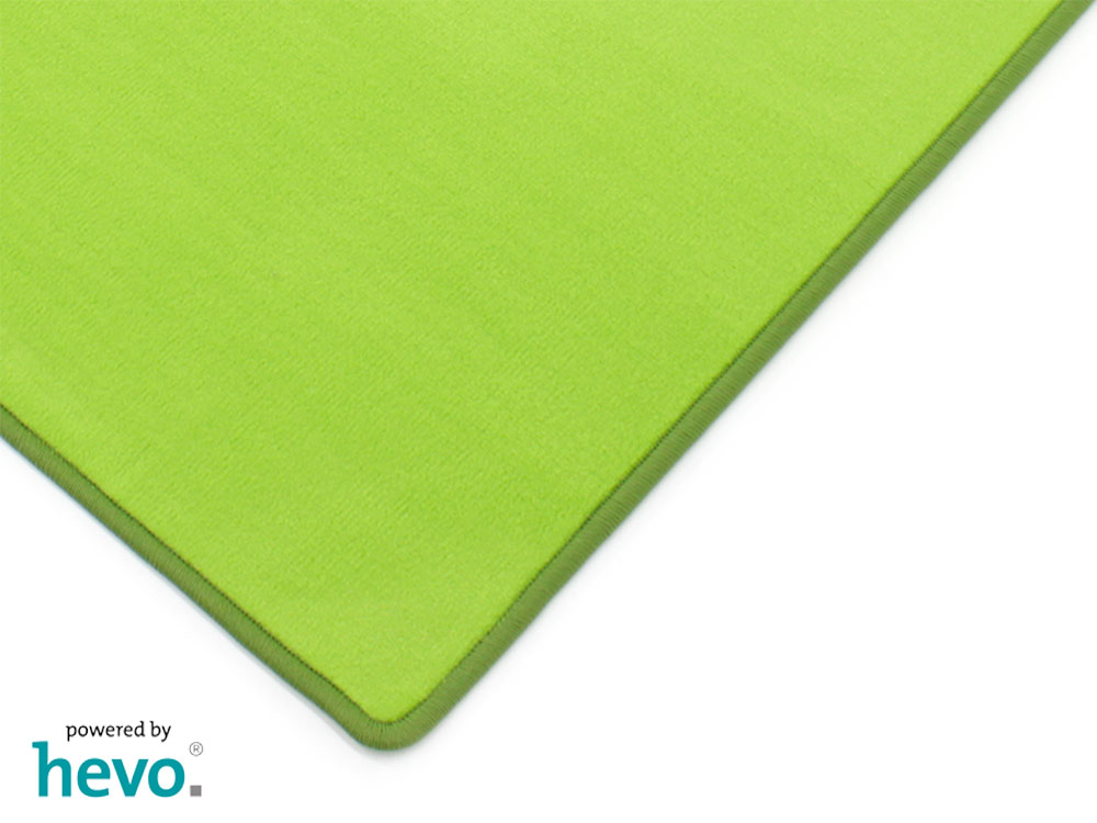 Romeo grün HEVO ® Velours Kettel Teppich 200×300 cm  eBay