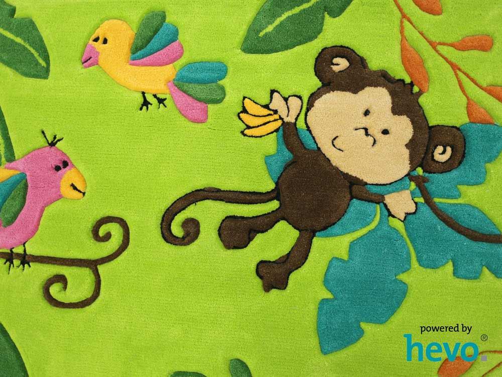 Kinderteppich grün  Bernadette Handtuft Kinderteppich Spielteppich grün 120x180 CM | eBay