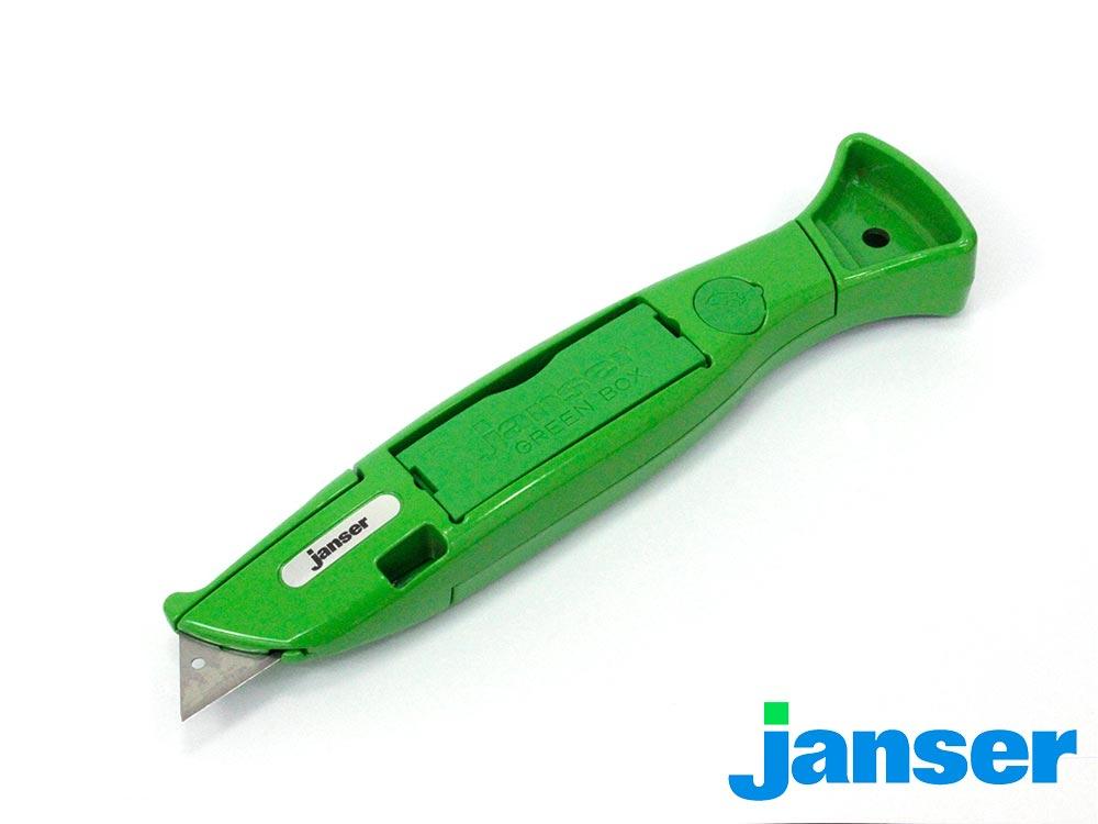 Profi Teppichmesser Janser Green Knife  teppichscheu