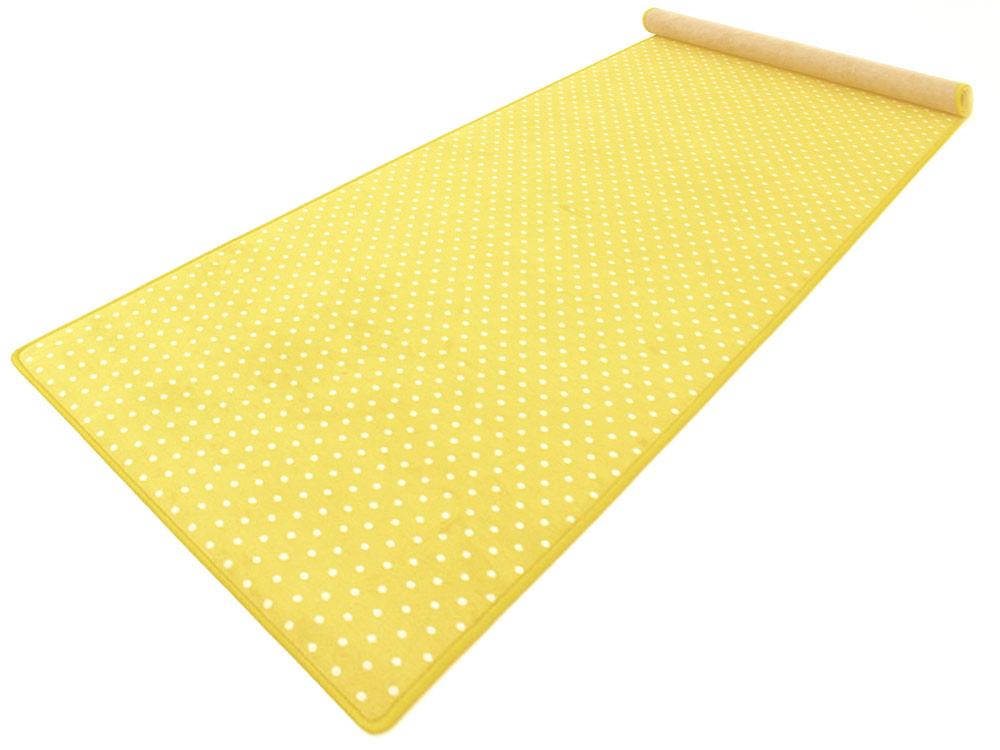 Bijou Petticoat gelb Teppich  Läufer 120×200 cm von
