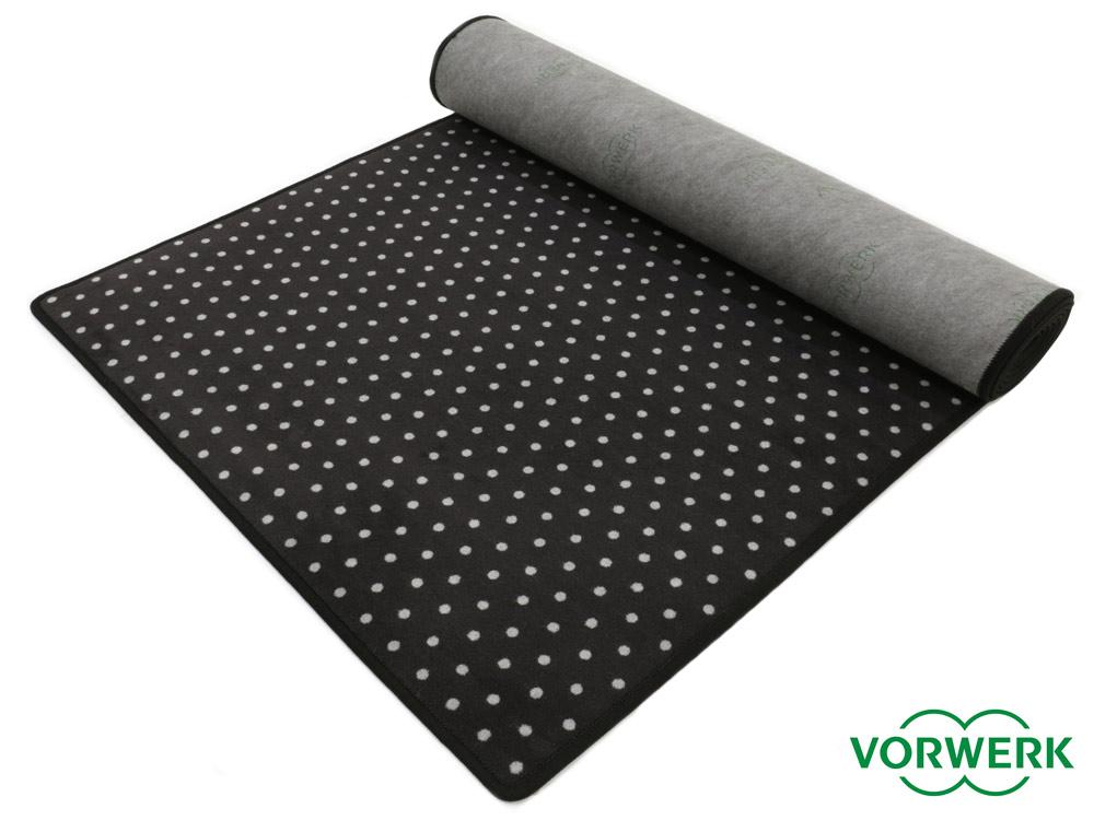 bijou petticoat schwarz teppichl ufer 100x340 cm von. Black Bedroom Furniture Sets. Home Design Ideas