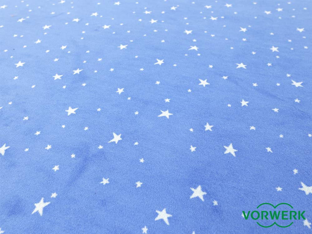 bijou stars blau teppich l ufer 120x200 cm von vorwerk sonderedition ebay. Black Bedroom Furniture Sets. Home Design Ideas