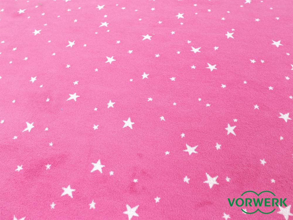 bijou stars pink kettel teppich 300x400 cm vorwerk xxl sonderedition ebay. Black Bedroom Furniture Sets. Home Design Ideas