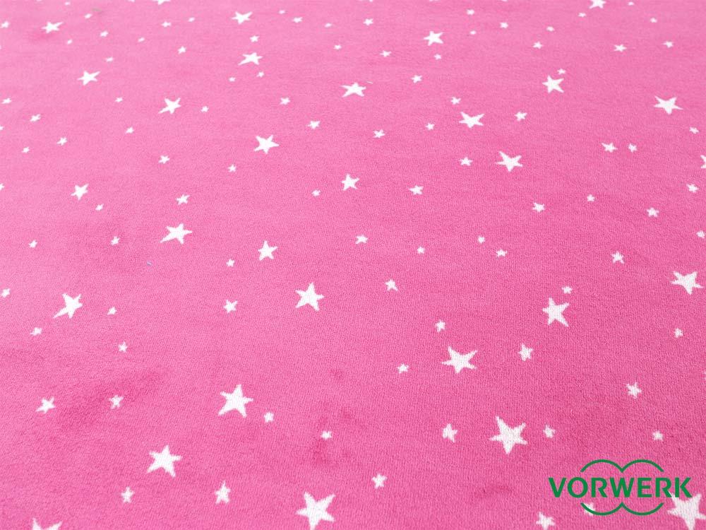 Bijou Stars pink Kettel Teppich 300×400 cm Vorwerk XXL
