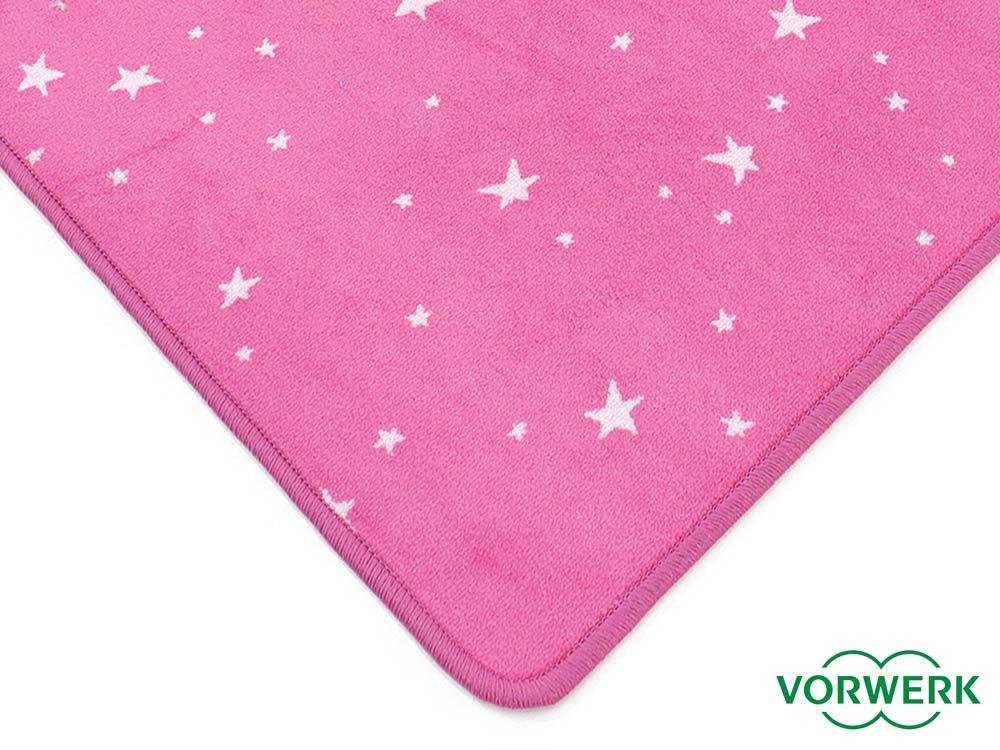 Bijou Stars pink Teppich  Läufer 100×340 cm von Vorwerk
