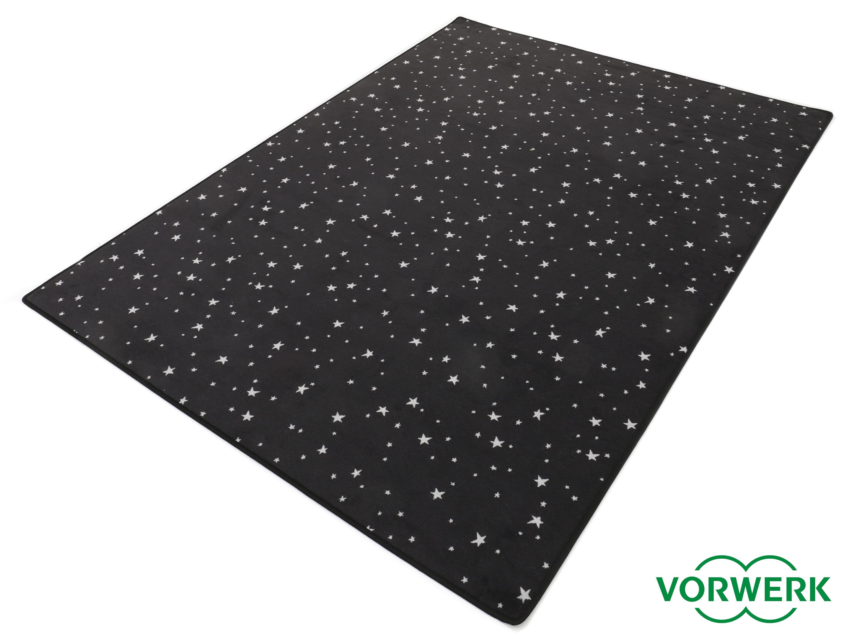 Teppich 200x200  Bijou Stars schwarz Kettel Teppich 200x200 Cm Vorwerk | eBay