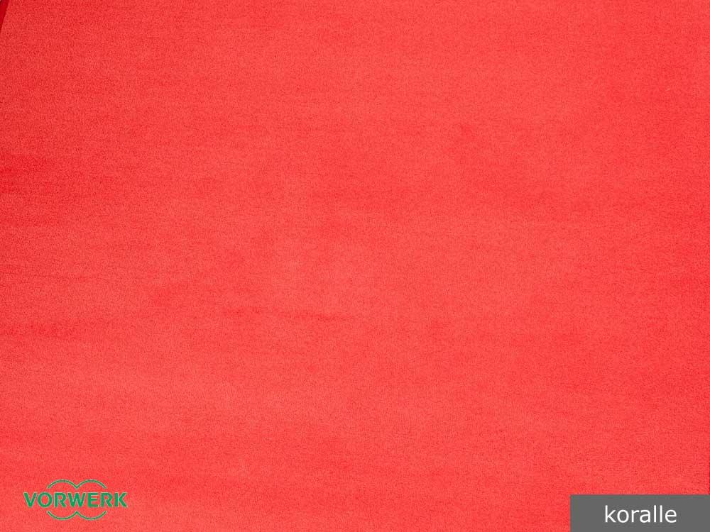 Farbe Korall bijou vorwerk teppichboden 18 95 m in 13 farben 400 cm breite