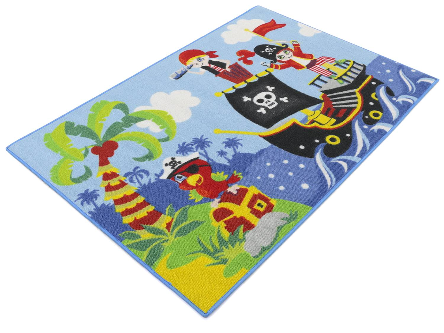 Pirates Boys 03Piraten Kinderteppich80x120 cm