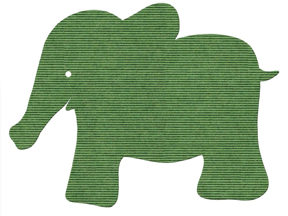 tretford Plus 7 Kinderteppich Elefant in 12 Farben 97x75cm