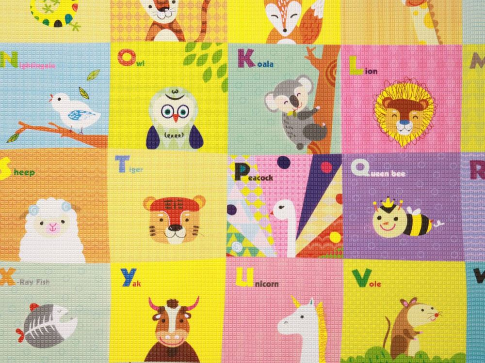 Baby Care Birds in the Trees|Babymatte | Spielmatte | 210 x 140 cm