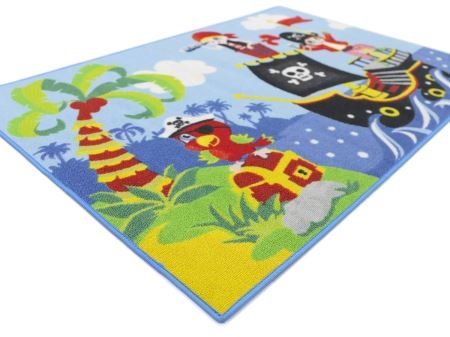 Pirates Boys 03|Piraten Kinderteppich|80x120 cm