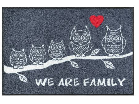 Wash+Dry Fußmatte We Are Family | 50x75 cm