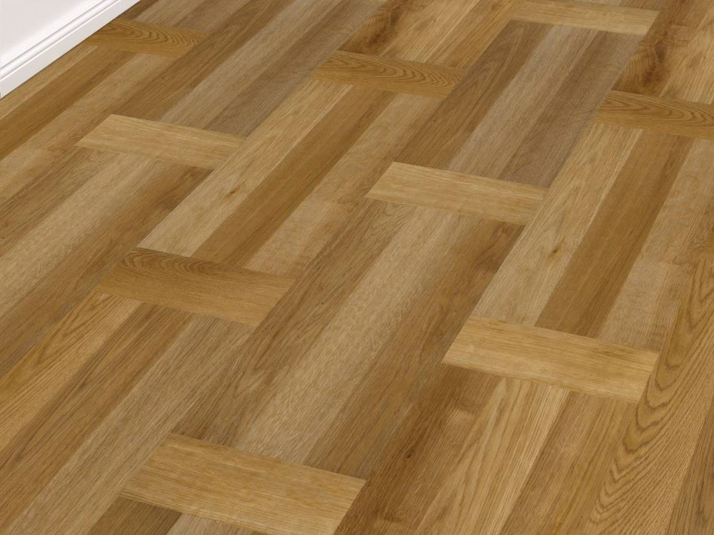 Vinyl-Designboden JAB LVT 40 | Basket Honey | zum Klicken | J-CL40026