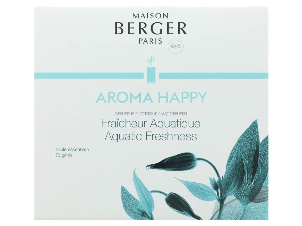 Maison Berger Paris Elektrodiffusor Happy 7009 | + 475ml Aroma Happy