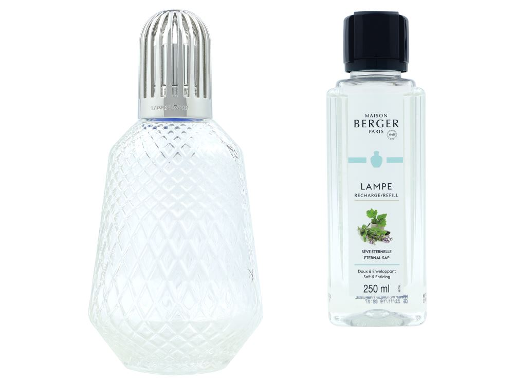 Maison Berger Paris Duftlampe 4704 | Matali Crasset Transparent + 250ml Parfum de Maison
