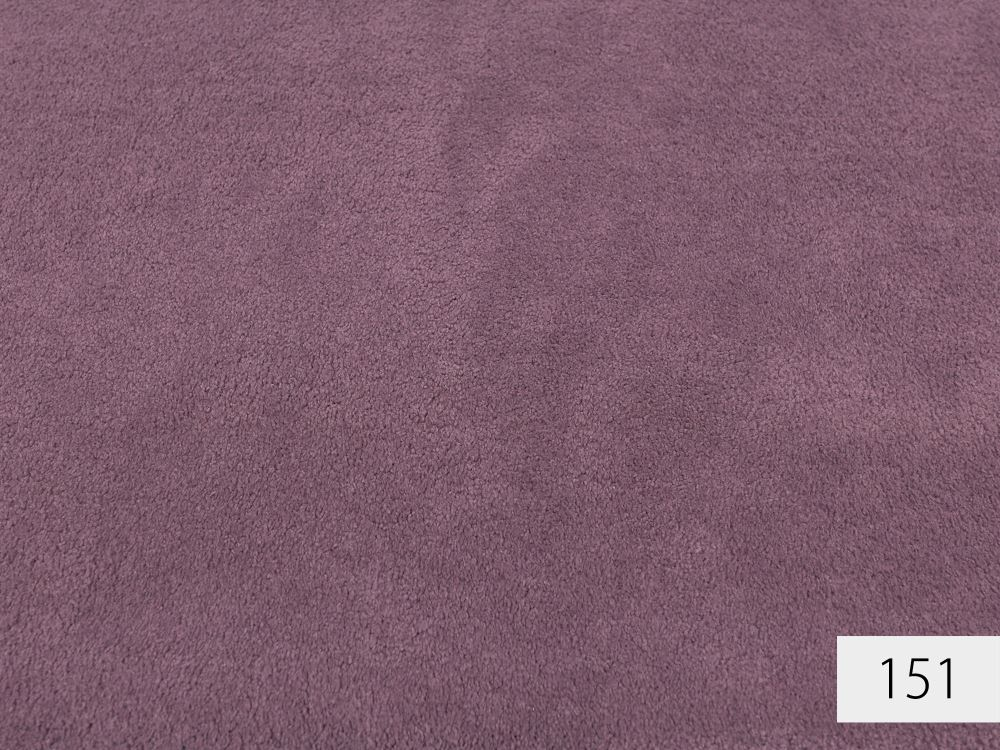 Girloon Touch Teppichboden   softer Velours   Made in Germany   400cm Breite
