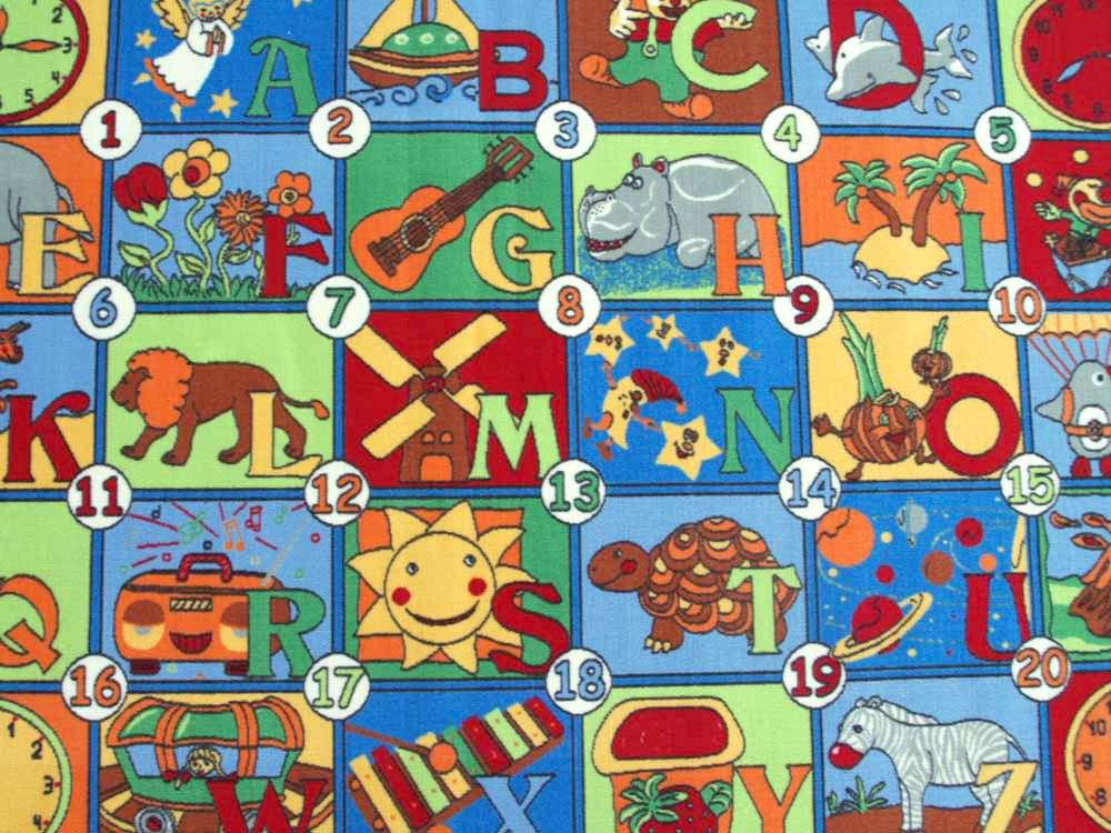 123 Mix HEVO Spielteppich|Kinderteppich in 133x200 cm